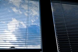 Jalousien als Fenster Sichtschutz