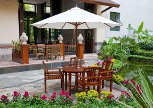Sonnenschirm für Garten und Terrasse